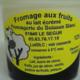 Fromagerie du Buisson blanc,  Fromage sur lit de myrtille