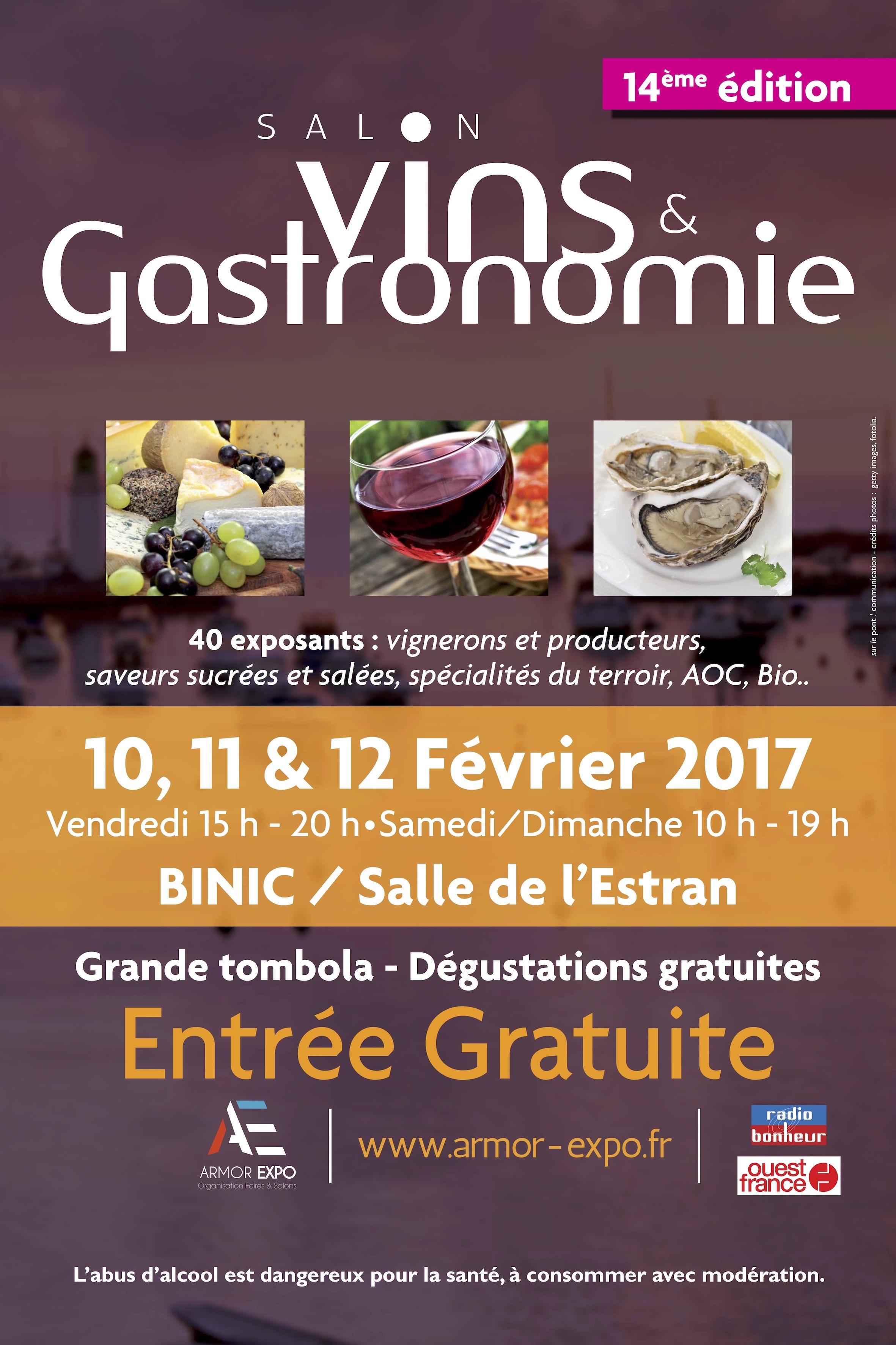 salon vins et gastronomie binic (22) binic (22520)