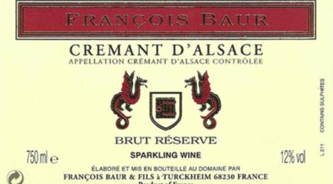 François Baur, crémant d'Alsace