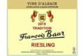 françois Baur, Riesling