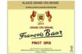 françois Baur, Pinot Gris Brand