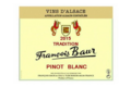 françois Baur, Pinot Blanc