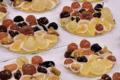 plateaux de fruits confits