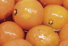 Confit-fruit