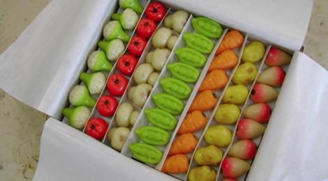 confiserie Gumuche,   Pâtes d'Amande