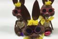 Grimmer Artisan Chocolatier, lapin en chocolat