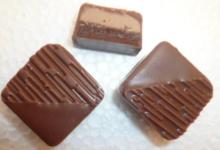 chocolat fourré Praliné amandes et ganache Kalamansi