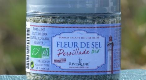 Rivesaline, Fleur de Sel Persillade BIO