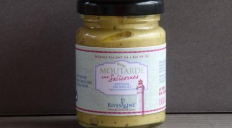 Rivesaline, Moutarde à la salicorne