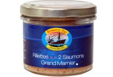 bourgain et Fils, Rillettes aux 2 saumons et au Grand-Marnier