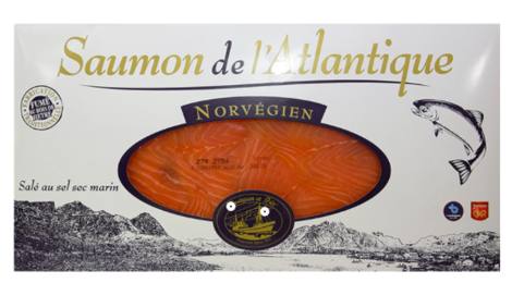 bourgain et Fils, Saumon fumé norvégien