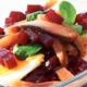 Salade de  Harengs aux  betteraves rouges