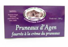 ferme du Lacay, Pruneaux d'Agen fourrés à la crème de pruneaux