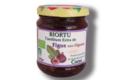 Biortu, Confiture bio de figues-pignons