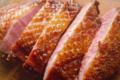 Magret de canard juste cuit