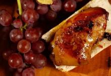 Foie gras de canard poêlé aux pommes