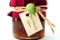 Verrine de figues blanches au safran BIO