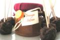 Verrine orange au safran BIO
