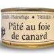 Ferme de Pleinefage, pâté au foie de canard