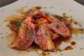 magret de canard rôti carottes au persil