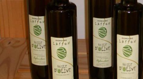 domaine Laffon, huile d'olive Aglandau