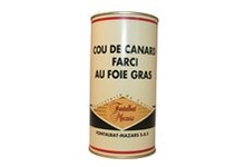 Charcuterie Fontalbat Mazars, Cou de canard farci au foie gras
