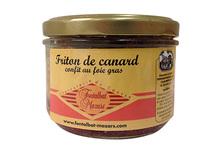 Charcuterie Fontalbat Mazars, Friton pur canard boîte