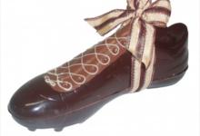 Albert chocolatier, Chaussure de foot, 31cm, noir
