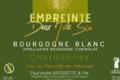 domaine Brossette, Bourgogne blanc empreinte