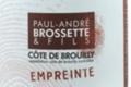 domaine Brossette, Côte de Brouilly Empreinte