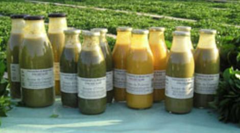 La Cressonière du Moulin Vaux, soupes