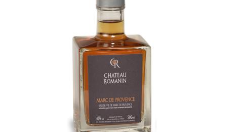Château Romanin, marc de Provence