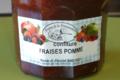 Ferme de la Prémoudière, Confiture de fraises - pommes