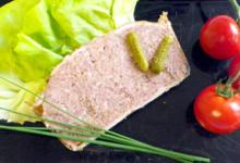 Le Porc de L'Etre Pitois,  Pâté de campagne en tranche
