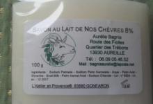 Savon au lait de nos chèvres