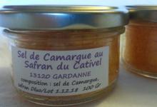 sel de Camargue au safran du Cativel