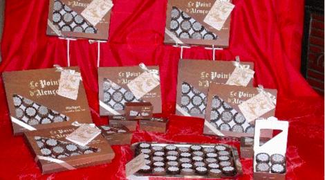 chocolats Glatigny, Les points d'Alençon
