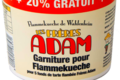 ferme Adam, garniture pour tarte flambée