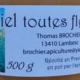 thomas Brochier, miel toutes fleurs