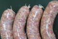 mas de Mailly, grosses saucisses natures