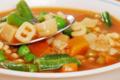 Potage d'Alphabets aux légumes