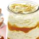 Avoines au lait et caramel au beurre salé