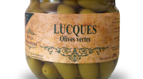 Moulin de Bédarrides, Olives Lucques (vertes)