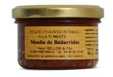 Moulin de Bédarrides, Pulpe d'olives noires à la tomate