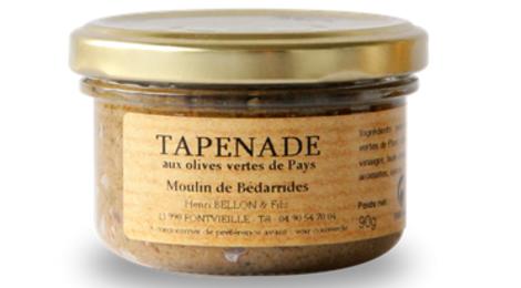 Moulin de Bédarrides, Tapenade aux olives vertes