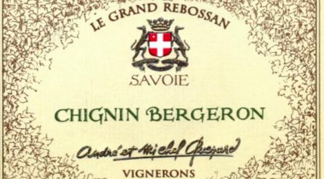"""andré et Michel Quenard, Chignin-Bergeron """"Le Grand Rebossan"""""""