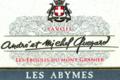 """andré et Michel Quenard, Les Abymes """"Les éboulis du Mont Granier"""""""