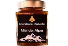 confidence d'abeilles, miel des Alpes