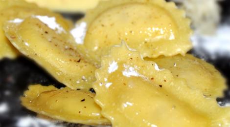 ravioli truffe parmesan