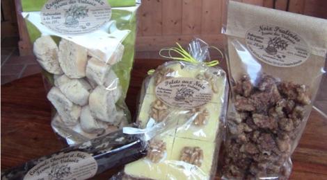 la ferme des Valnoix, croquants aux noix